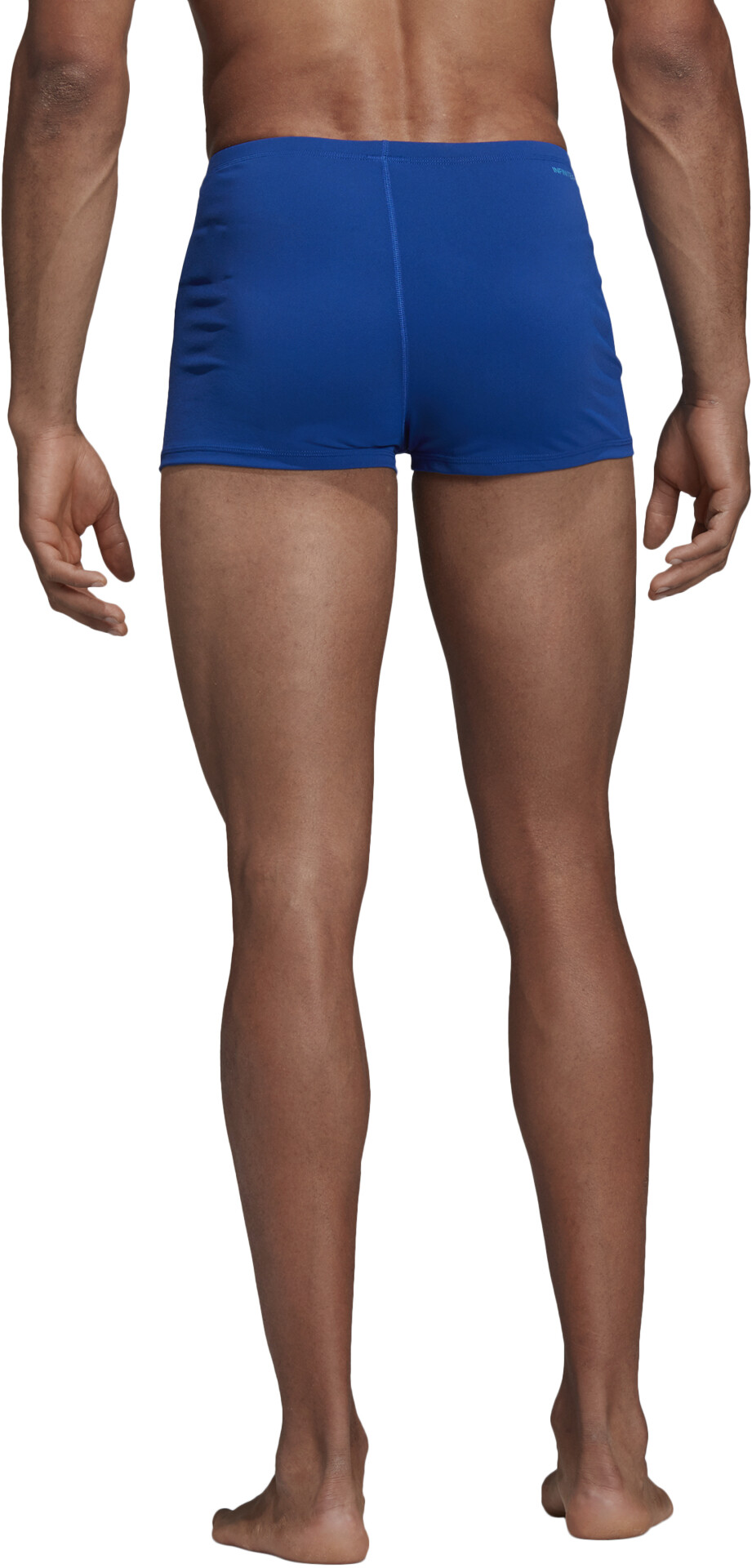 adidas Pro 3 Stripes Zwemboxers Heren, collegiate royalshock cyan